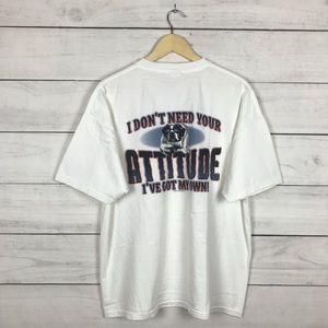 "Vintage 2004 Big Dogs ""Attitude"" T-Shirt"